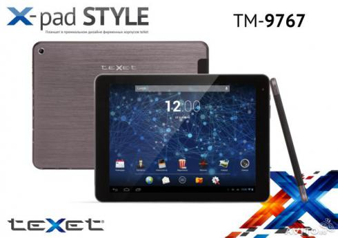 Texet TM 9767 3G прошивка