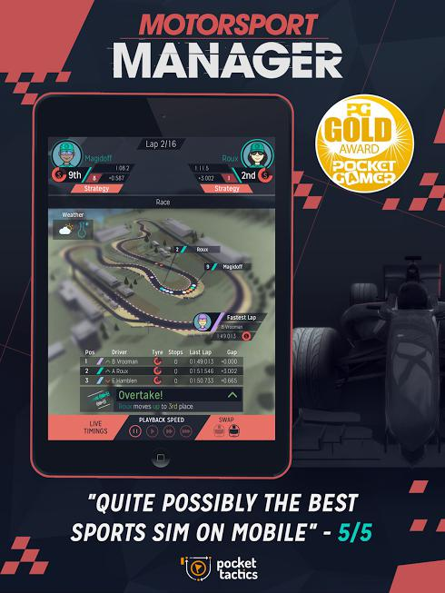 Motorsport Manager на Android