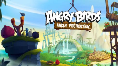 Angry Birds Under Pigstruction на Android