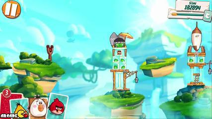 Angry Birds Under Pigstruction для Android скриншот 1
