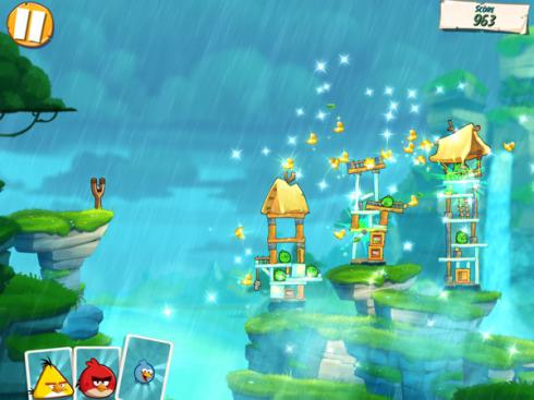 Angry Birds Under Pigstruction для Android скриншот 4
