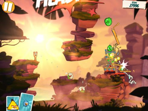 Angry Birds Under Pigstruction для Android скриншот 5