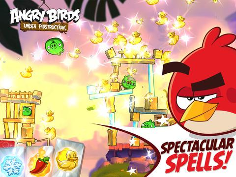 Angry Birds Under Pigstruction для Android скриншот 6