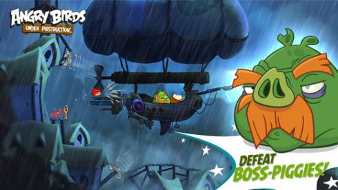Angry Birds Under Pigstruction для Android скриншот 7