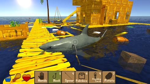 Raft Survival Simulator на Android