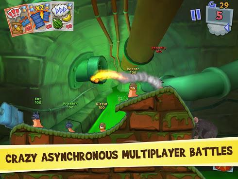 Worms 3 для Android скриншот 2