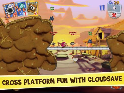 Worms 3 для Android скриншот 4