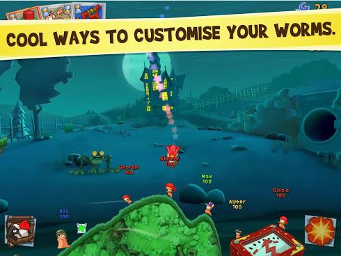 Worms 3 для Android скриншот 5