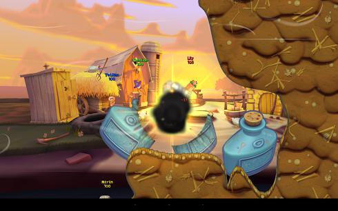 Worms 3 для Android скриншот 6