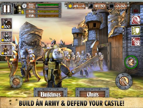 Heroes and Castles на Android