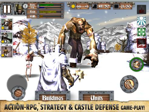 Heroes and Castles для Android скриншот 2