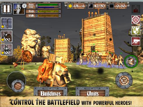 Heroes and Castles для Android скриншот 4