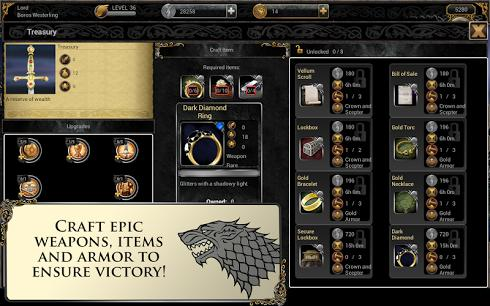 Game of Thrones Ascent для Android скриншот 4