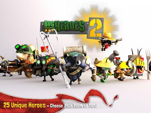 Bug Heroes 2 на Android