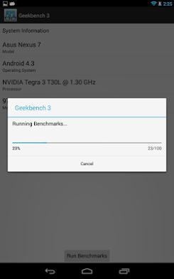Geekbench 3 для Android скриншот 2