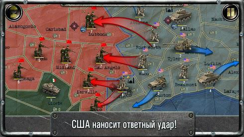 Strategy & Tactics: USSR vs USA для Android скриншот 3