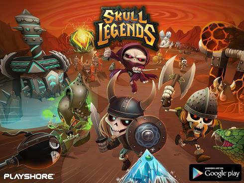 Skull Legends на Android