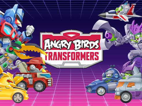 Angry Birds Transformers на Android