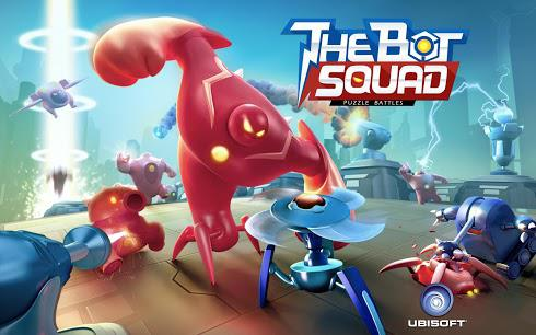 The Bot Squad: Puzzle Battles на Android