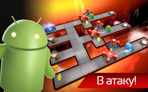 The Bot Squad: Puzzle Battles для Android скриншот 2