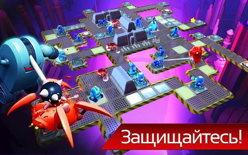 The Bot Squad: Puzzle Battles для Android скриншот 3