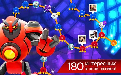 The Bot Squad: Puzzle Battles для Android скриншот 4