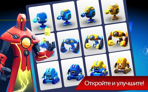 The Bot Squad: Puzzle Battles для Android скриншот 5