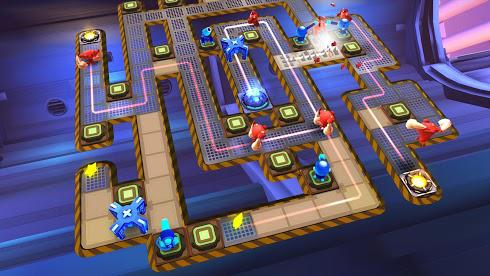 The Bot Squad: Puzzle Battles для Android скриншот 6
