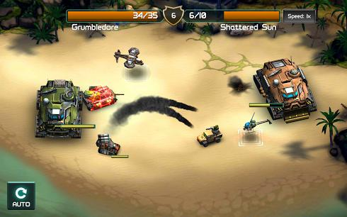 Global Assault для Android скриншот 6